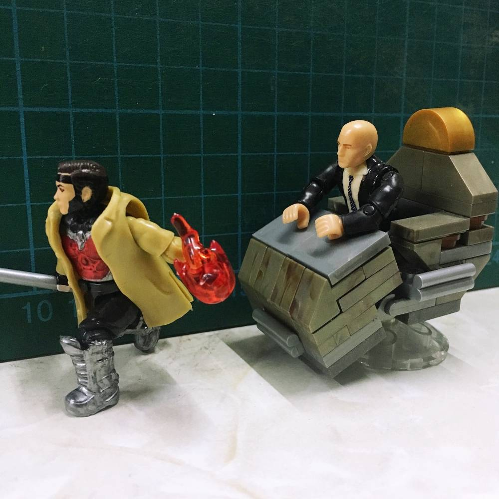 Image of: Gambit and Professor X