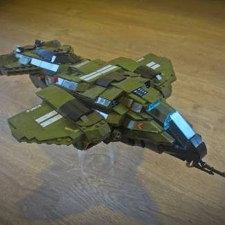 Image of: My halo pelican moc, version 1.01