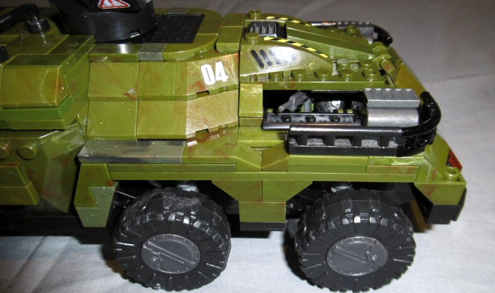 Image of: Halo Wars UNSC Cougar AFV custom build