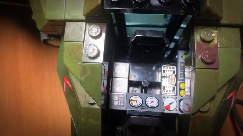 Image of: Pelican interior details