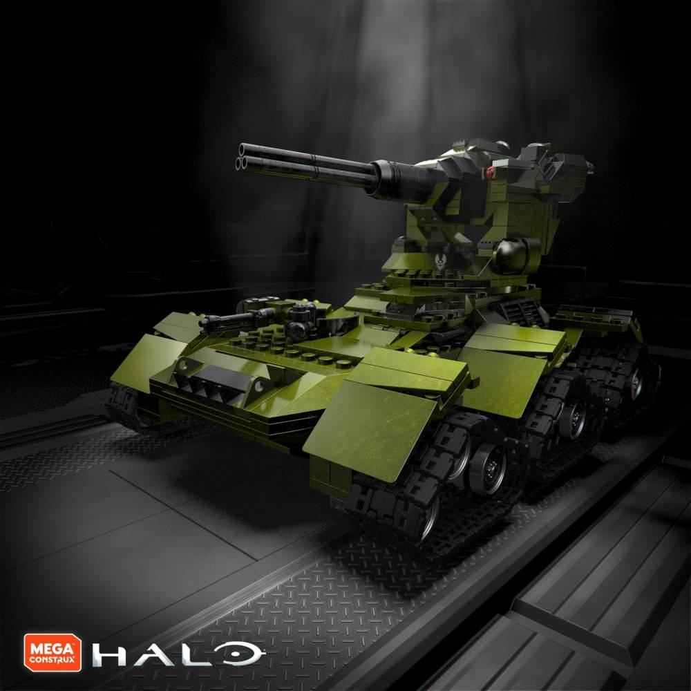First Look: Halo 10th Anniversary Designer Series: UNSC Scorpion Tank