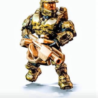 Image of: The Warthog Run Master Chief