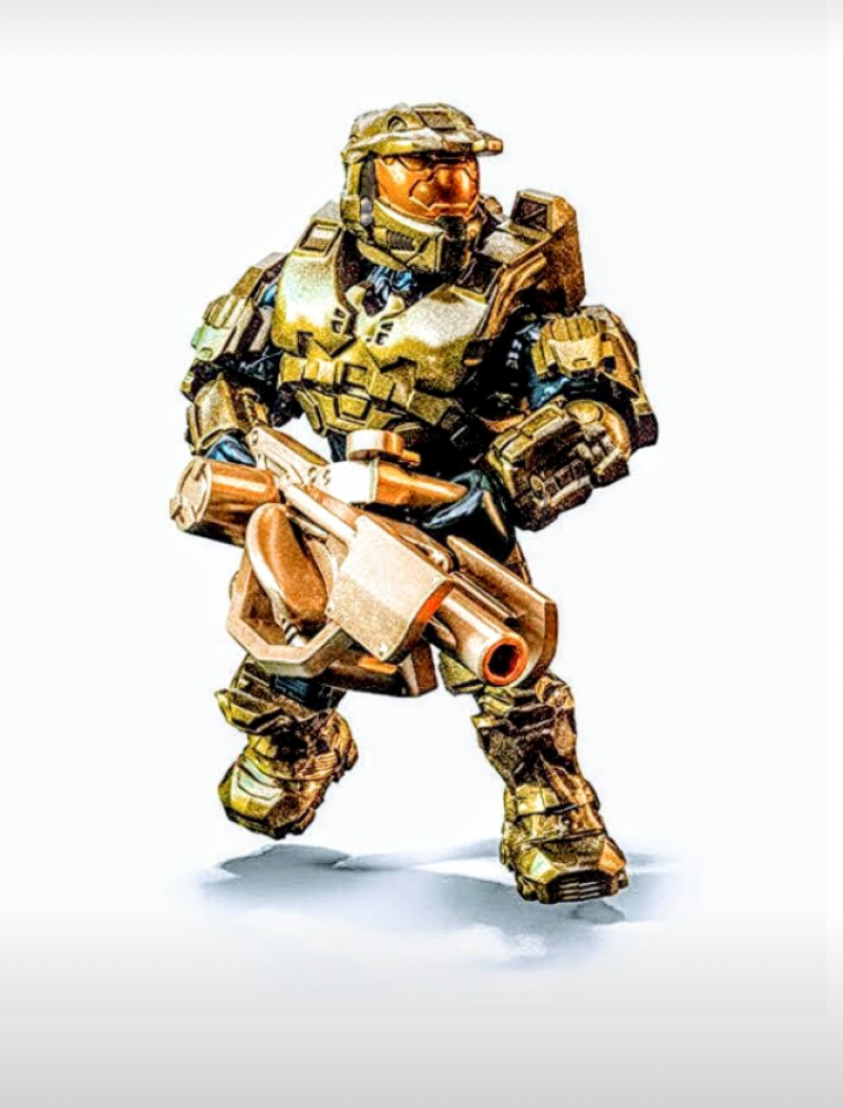 The Warthog Run Master Chief