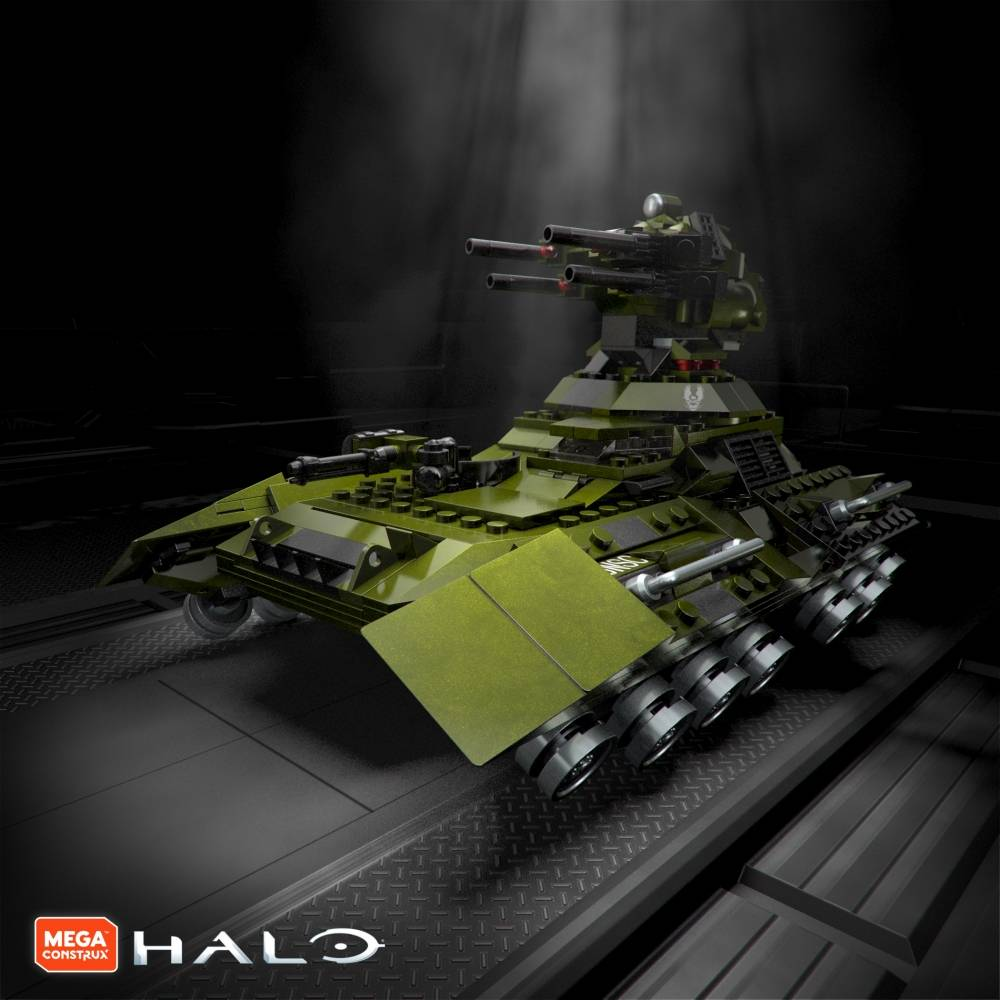 Another Look: Halo 10th Anniversary Designer Series: UNSC Scorpion Tank