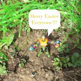 Image of: Merry.... I meant Happy Easter