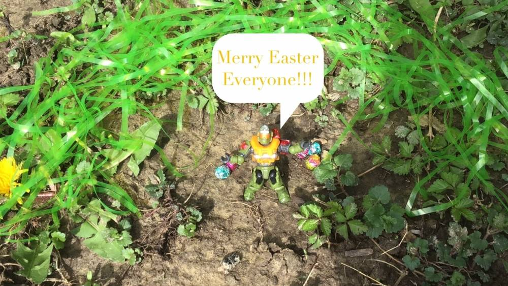Merry.... I meant Happy Easter