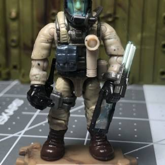 Image of: Dr. Crow's exploration gear.