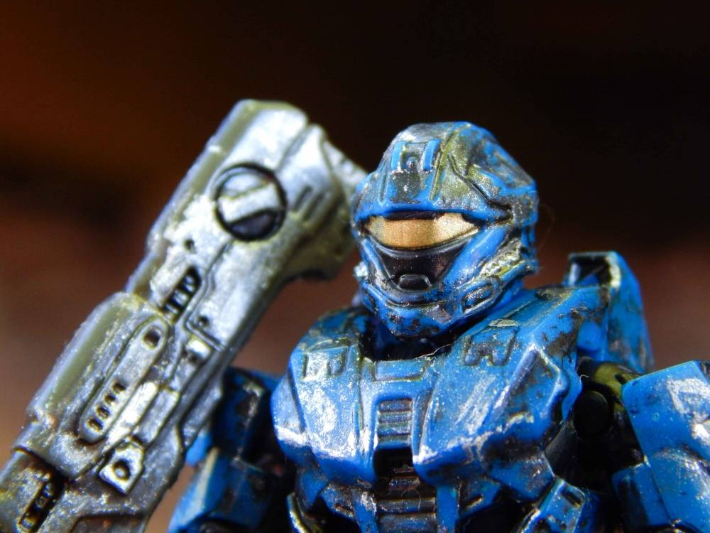 Image of: Custom Weathered Recon Spartan
