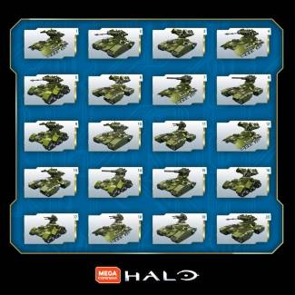 Image of: Another Look: Halo 10th Anniversary Scorpion Tank Configurations