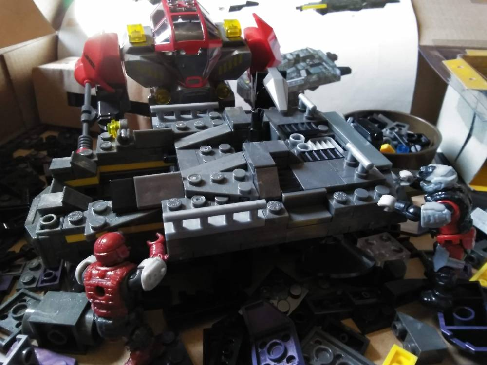 Image of: Building the UNSC Cobra