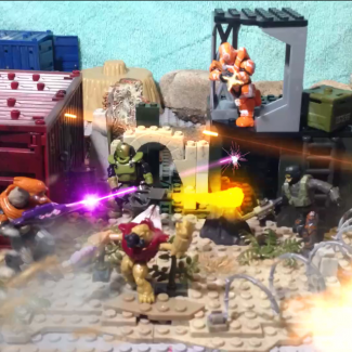 Image of: Mega Construx Winters: Outpost Defense
