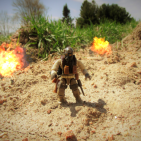 Image of: Mortar Fire!
