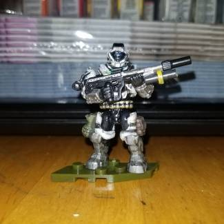Image of: My Spartan from Halo Reach updated.