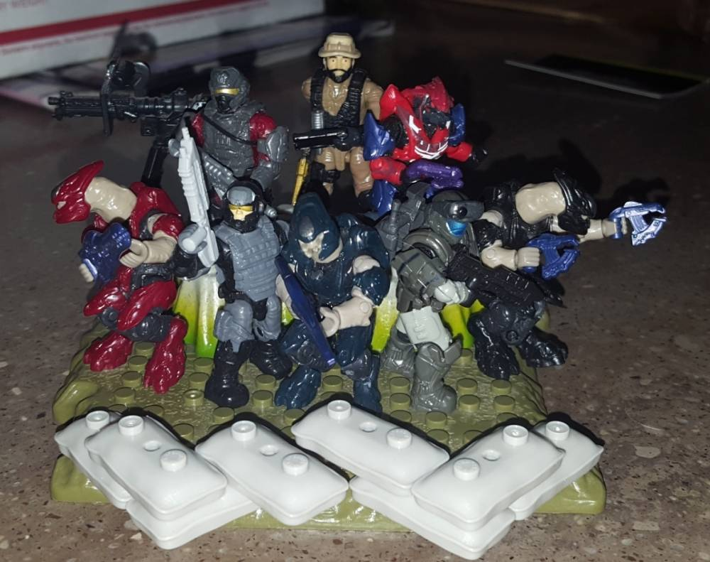 Mega Construx, Resolve: The Battle of Antares Series 2 Blind bags (Nigelninja11's Contest)