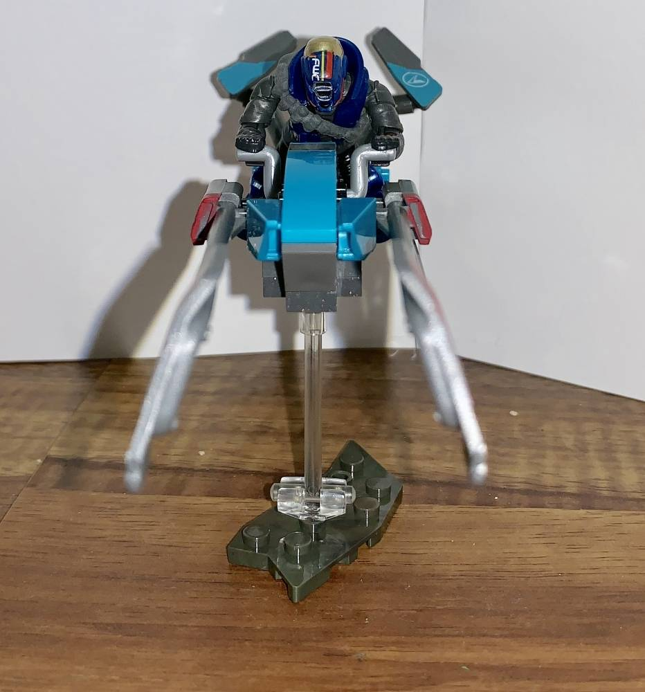 Modified EV41 Racing Sparrow Building Set and Custom Figure
