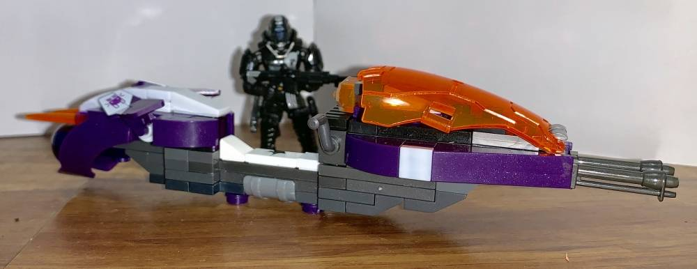Image of: A Custom Speeder and Figure