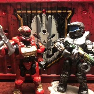 Image of: Custom painted weapons