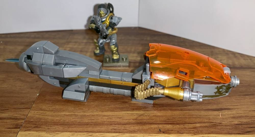Image of: Custom Speeder and Figure