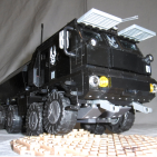"Image of: M37 ""Spartan Bus"" Troop Transport, Halo Reach MOC"