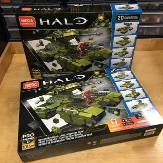 More Halo 10th Anniversary Scorpion Tank