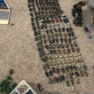 Image of: Close-Up of My Collection: Marines