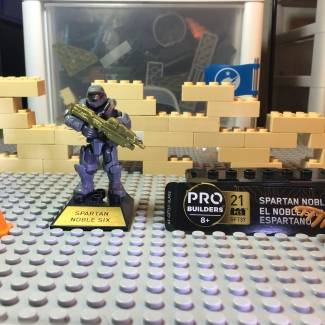 Image of: Halo 10th anniversary Noble 6