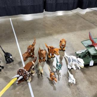 Image of: Jurastic park dinos for future projects