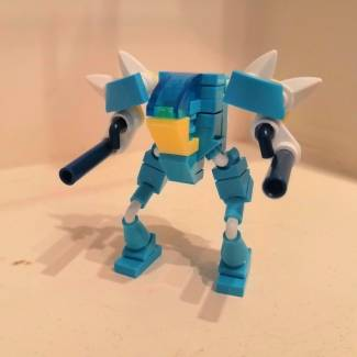 Image of: Gyarados mini mech alt