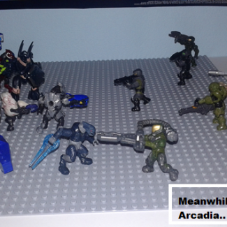Image of: Halo wars funny moments mission: Arcadia