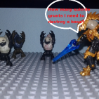 Image of: Halo wars funny moments in skirmish: Suicide grunts edition