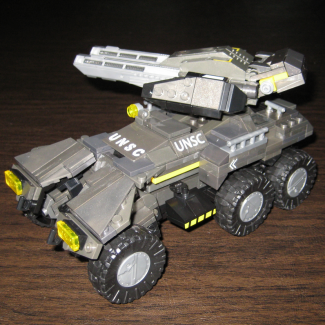 Image of: Halo Wars UNSC Cobra rebuild
