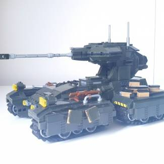 Image of: Custom M808B Scorpion Tank Part 1