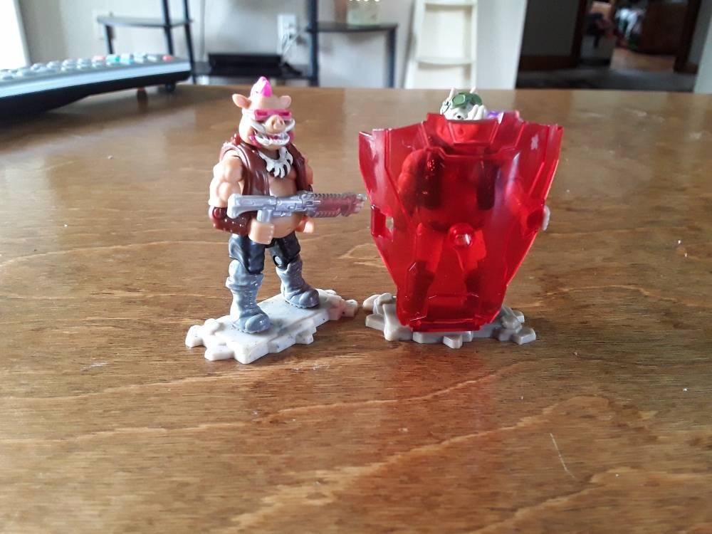 Image of: Modified Bebop, Rocksteady, and 3 foot soldiers (Fireteam Foot)