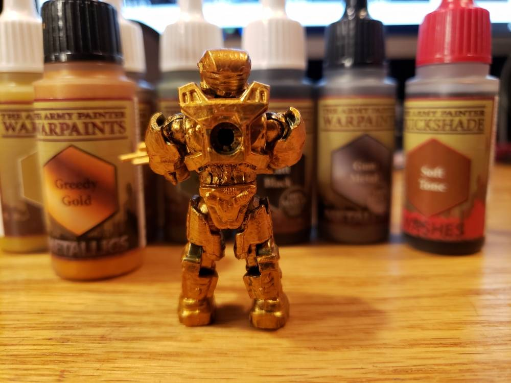 Image of: Halo Mega construx figures + The Army Painter=awesome customs part 4