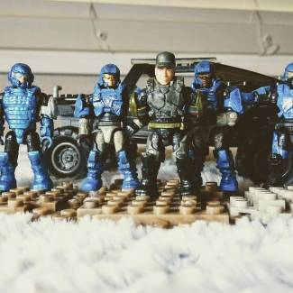 Image of: Fort Calterra: Marines and ODST