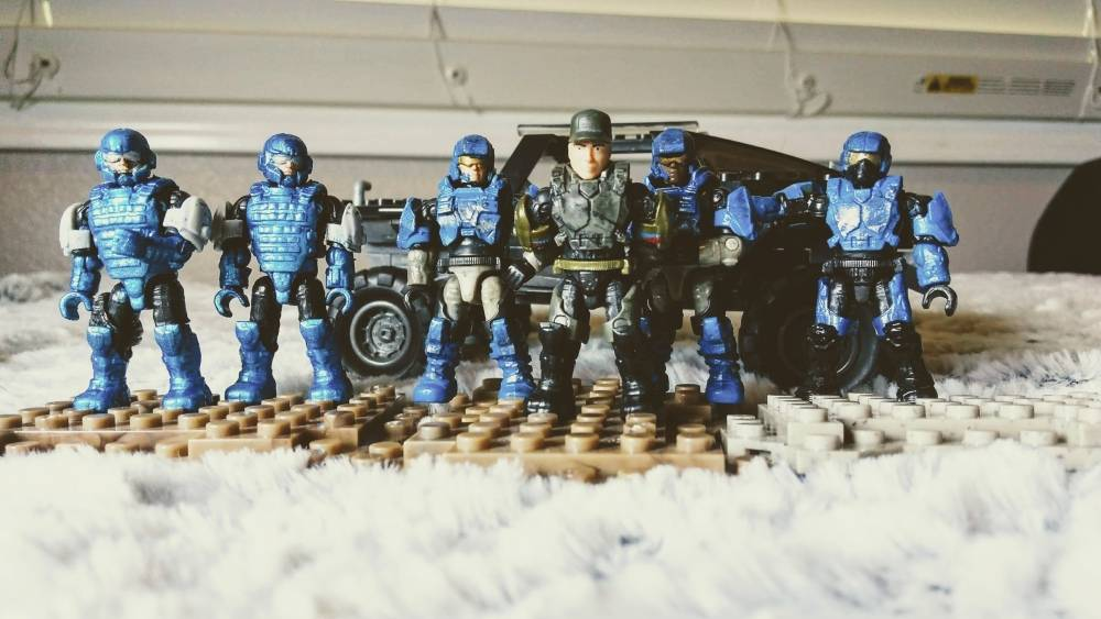 Fort Calterra: Marines and ODST