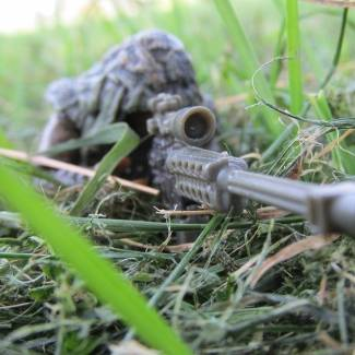 Image of: Ghillie Sniper