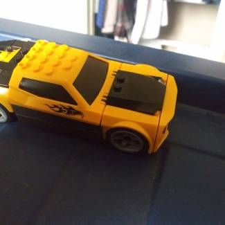 Image of: Slight modification to hot wheels