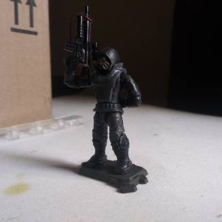 Image of: Blackwatch trooper 1st attempt