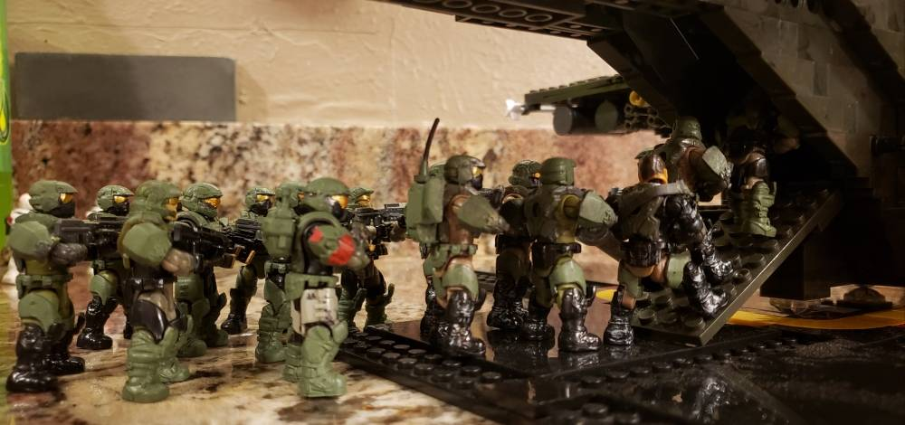Image of: @AgentHellion Battlecorps contest unsc reinforcements for Spartan Juliet 2.5