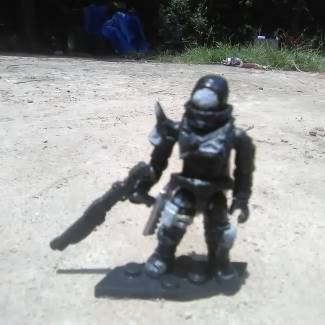 Image of: My brothers custom Hunter