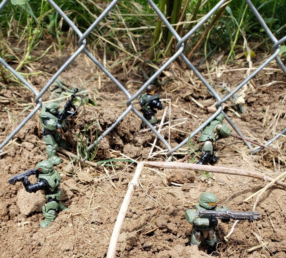 Image of: The Thin Green Line (Army men rts reference)