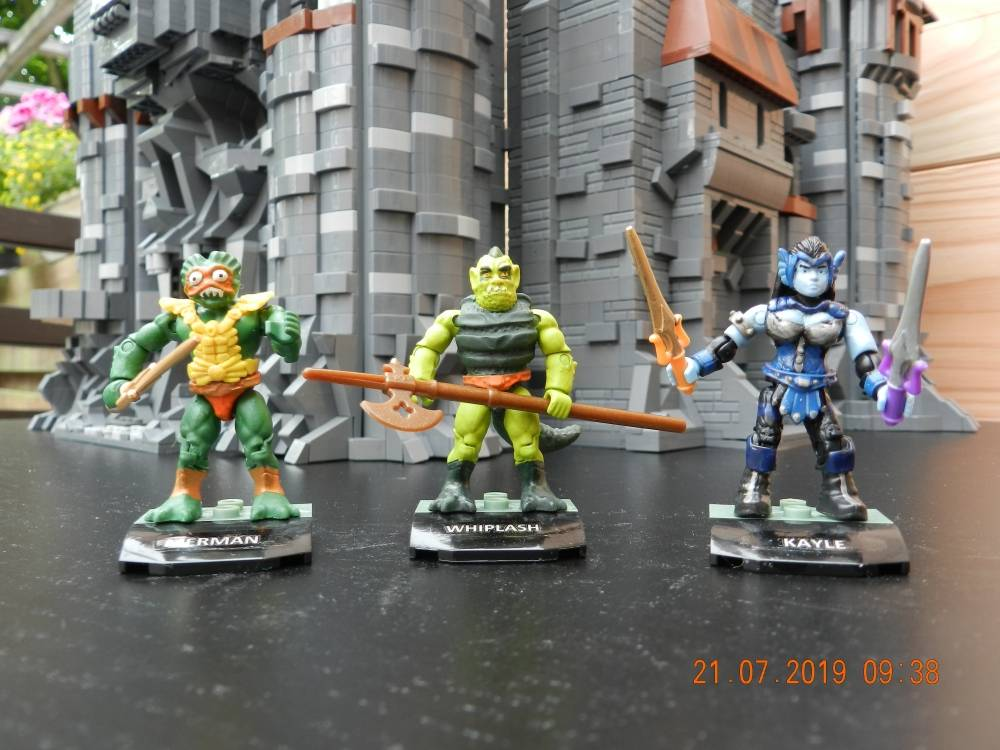 Image of: Masters of the universe - custom figures so far - the bad guys
