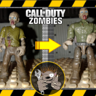 Image of: How to Fix Mega Construx unarticulated Zombies