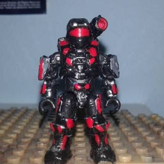 Image of: Spartan Muto 112 back canon ( based in Doom slayer)