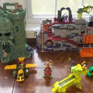Image of: MOTU collection so far