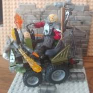 Built a vehicle in the style of Von Franco's famous art