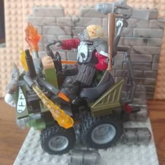 Image of: Built a vehicle in the style of Von Franco's famous art