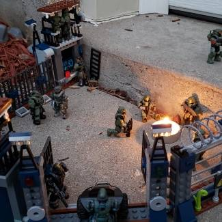 Image of: Firebase outpost