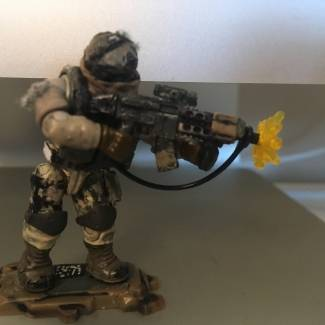Image of: Custom figs and weapons pt.1